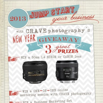 Crave My Photography Giveaway