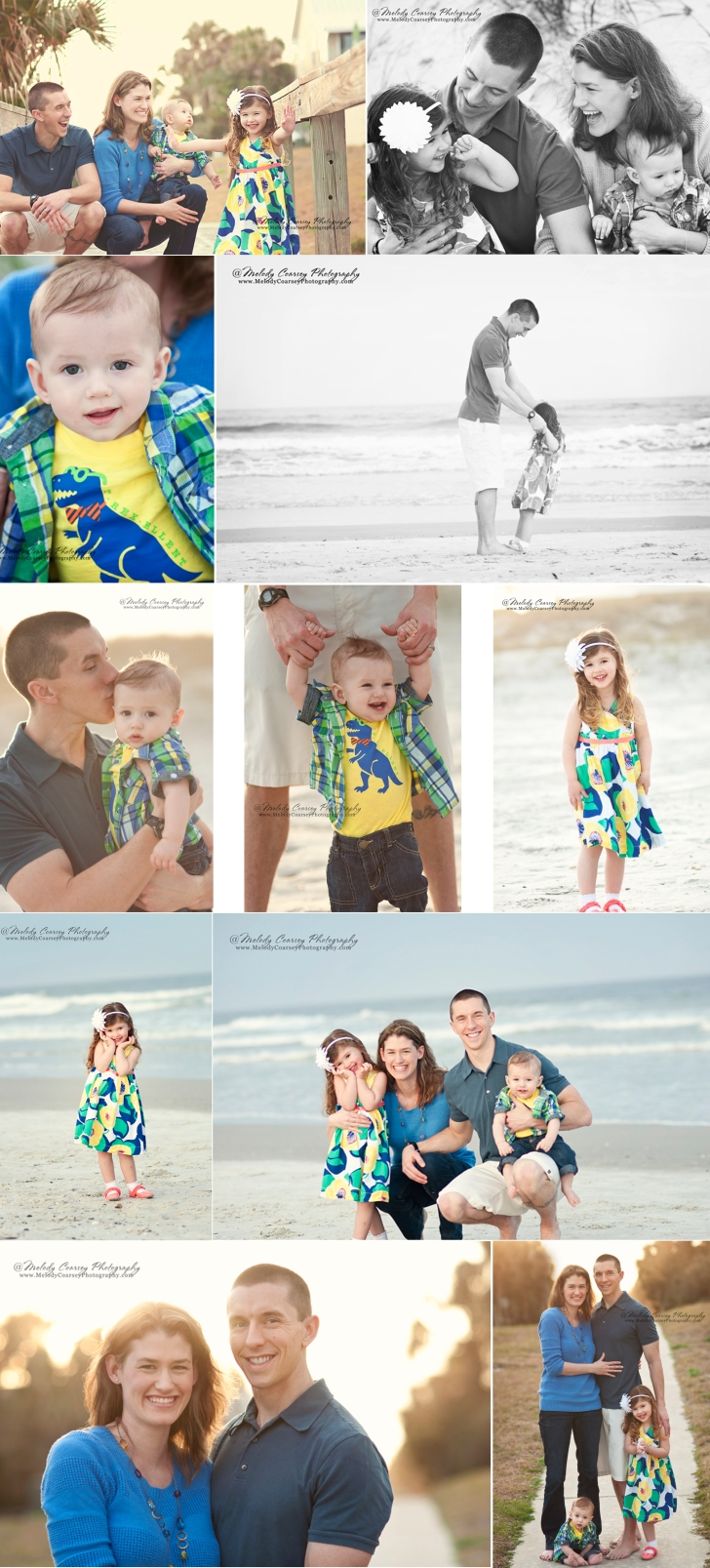 Family Portrait Photographer near Jacksonville Beach FL